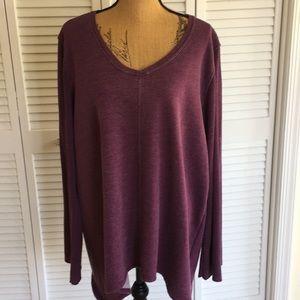 Purple Calvin Klein Sweater